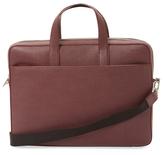 Jack Spade Barrow Slim Leather Briefcase