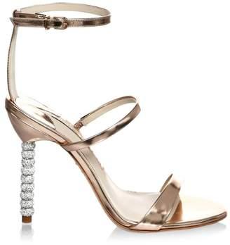 Sophia Webster Crystal-Embellished Leather Stiletto Pumps