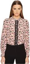 Kate Spade Small Blooms Silk Shirt