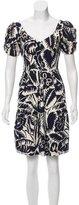 Marc Jacobs Printed A-Line Dress