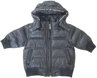 Burberry Black Polyester Jackets & Coats
