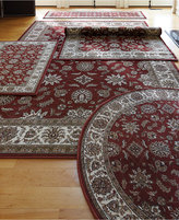 KM Home Area Rug Set, Vienna Collection 5 pc set Meshed Brick