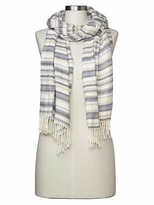 Gap Cozy modal holiday stripe scarf