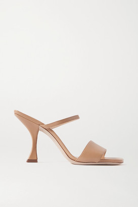 BY FAR Nayla Leather Mules