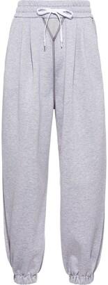 Miu Miu High-Waisted Drawstring Track Pants