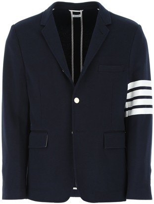Thom Browne 4-Bar Unconstructed Blazer