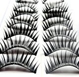 CyberStyle(TM) Make Up Artificial Natural Soft Handmade Thick Long False Eyelashes 10pairs