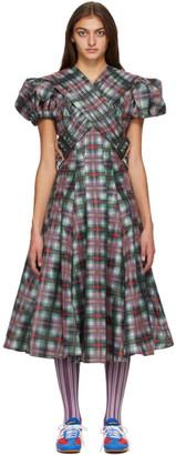 Chopova Lowena Multicolor Organza Chill Dress