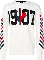 Rossignol graphic printed jumper - men - Virgin Wool - 46