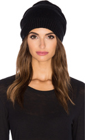 Plush Fleece Lined Pom Pom Beanie