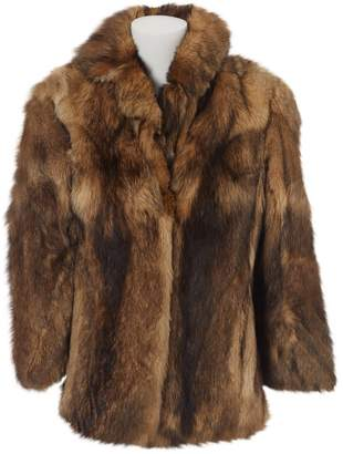 N. Non Signé / Unsigned Non Signe / Unsigned \N Brown Fur Coats