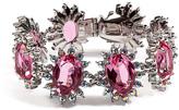 Mawi Linked Daisy Gemstone Bracelet in Pink