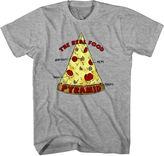 NOVELTY PROMOTIONAL Pizza Pyramid Short-Sleeve Tee