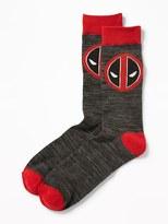Old Navy Marvel Comics Deadpool Trouser Socks for Men