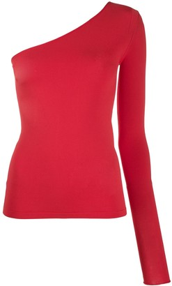 Stella McCartney One-Shoulder Knitted Top