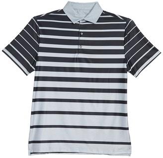 Hickey Freeman Gradient Stripe Polo Shirt