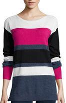 Liz Claiborne Long-Sleeve Tunic Sweater - Tall