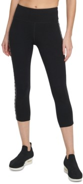 DKNY Sport High-Waist Cropped Leggings