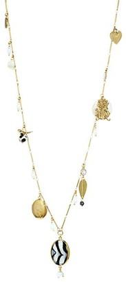 Gas Bijoux Lovely Embellished Long Necklace