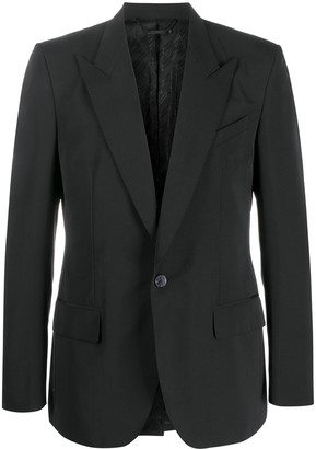Givenchy Peaked Lapels Single-Breasted Jacket