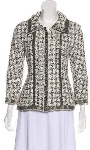 Chanel Silk Tweed Jacket