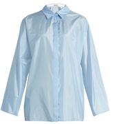 Nina Ricci Long-sleeved silk shirt