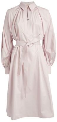 Roksanda Simina Belted Shirt Dress