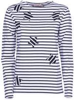Kitsune Maison Stripes T-shirt