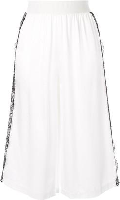 Giambattista Valli lace detail shorts