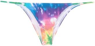 ACK Fine tie dye rainbow bikini bottoms