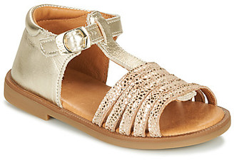 GBB ATECA girls's Sandals in Gold