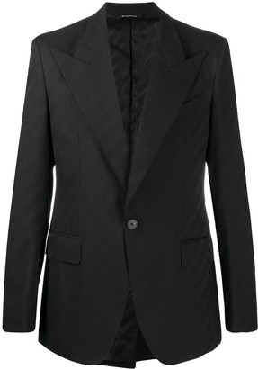 Givenchy Chain jacquard blazer