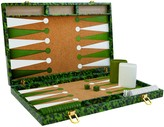 Oscar de la Renta Emerald Tortoise Backgammon Set