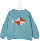 Bobo Choses geometric fish sweatshirt