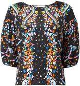 Peter Pilotto floral print blouse - women - Silk - 10