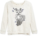 Jessica Simpson Stellar Fox Sequin Sweater, Big Girls (7-16)