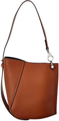 Lanvin Hook Small Leather Shoulder Bag