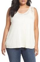 Bobeau Plus Size Women's Crisscross Back Tank