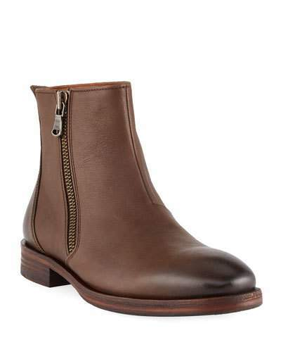 eb2aa7c2611 Men's Mitchell Side-Zip Leather Boots