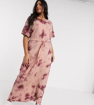 Junarose tie-dye maxi dress