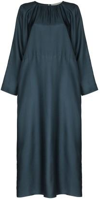 ASCENO Rhodes silk maxi dress