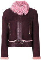 Versace shearling jacket - women - Lamb Skin - 44