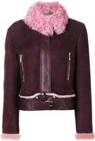 Versace shearling jacket