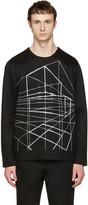 Diesel Black Gold Black Geometric Pullover