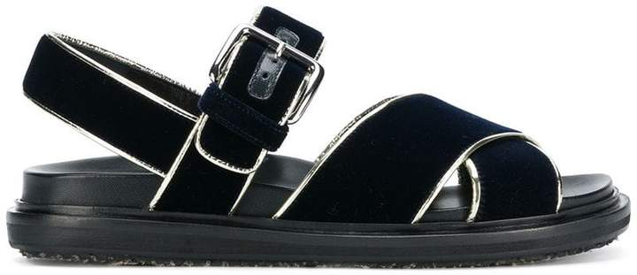 Marni crisscross sandals