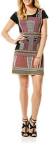 Laundry by Shelli Segal Patterned Sheath Dress