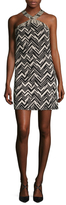 Trina Turk Akita Jacquard Shift Dress