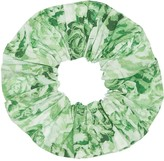 Ganni Printed Cotton Scrunchie
