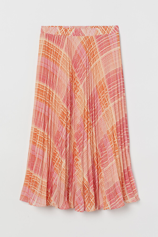 Thumbnail for your product : H&M Pleated chiffon skirt