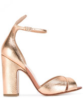 Francesco Russo textured sandals